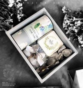 Rose Flower Tea Gift Box (KG 103)