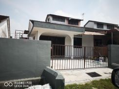 Single Storey House with land Beside in Taman Wah Keong, Simee