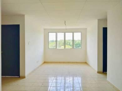 [new house] tmn puncak rasah apt, seremban 2, top floor with lift