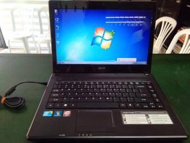 Acer aspire 4738g intel i5