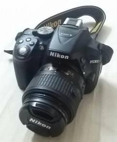 NIKON D5300 Dslr 32gb