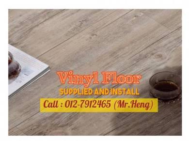 Natural Wood PVC Vinyl Floor - With Install 27V8