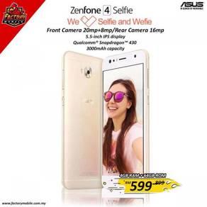 New Asus Zenfone 4 Selfie [ 4+64 ] m'sia set