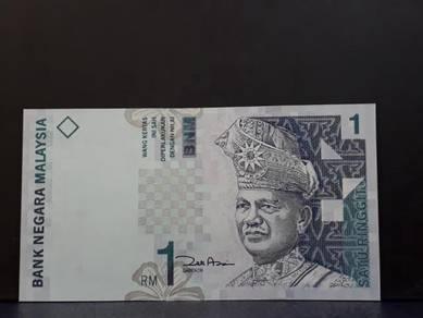 Duit lama rm 1 Zeti Aziz ( AEY 0000271 ) Low Numbe