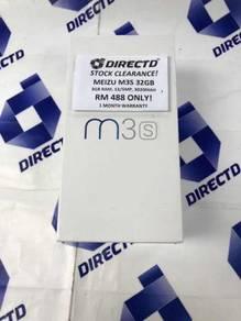 Meizu M3s 32GB (New Set) SEAL BOX
