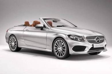 IScale 1:18 Mercedes-Benz C-Class Cabriolet (A205)