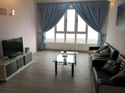 3 bedrooms TROPEZ Residences Danga Bay (High Floor with Renovated)