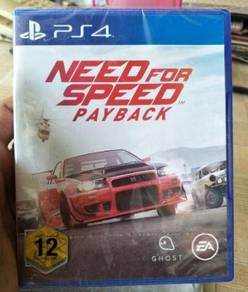 PS4 Game (NEW & SEALED) Need For Speed Payback