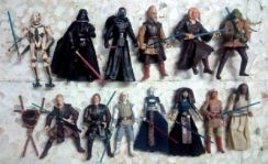 Lot L20A. Loose 3.75 inch Star Wars Figures