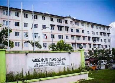 Pangsapuri utarid Seksyen U5, Bukit Subang Tingkat 4