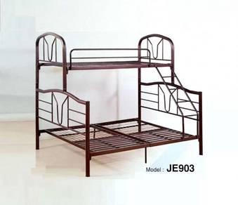 Super Bunk Bed Double Decker Single Bed