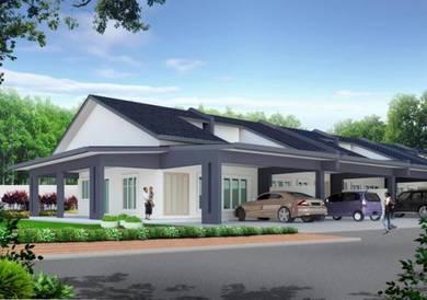 NEW LAUNCH RM1k dpt Rmh , DIRECT Pemaju FULL Loan, Near Kota Kemuning