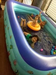 Inflatable Pool Utk Kanak-Kanak Berenang 5