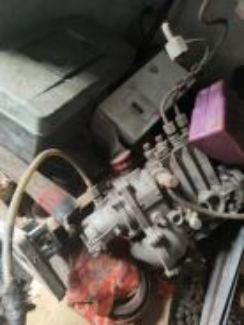 Diesel fuel pump for merc mini bus tayar +rim