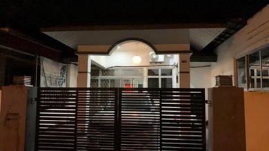 Senai utama single storey terrace- full loan