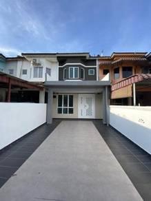 [16x67] No Face House Reno Double Storey Taman Sentosa Yusof Shahbudin