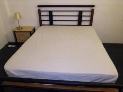 Second Hand - Queen Size Bed Frame with Mattress