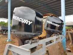 Engine Bot / BOAT Mercury 225hp EFI 2 biji