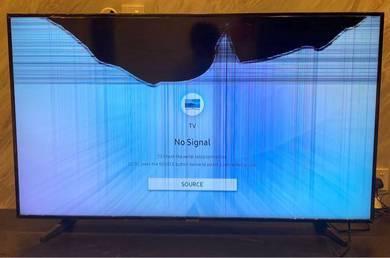 Screen Crack un-used Sumsung 55� TV