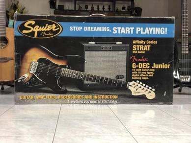 Squire STRAT Guitar w/ G-DEC 15W Amp (CLERANCE)