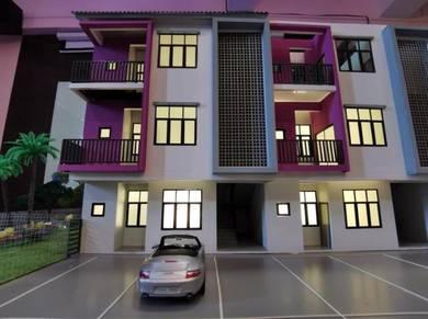 Kajang Freehold Townhouse, beside Putra Jaya, booking rm100 je, 1004sf