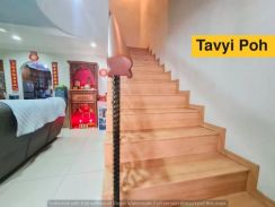 Sunway Tunas Double Terrace Bayan Baru Fully extended