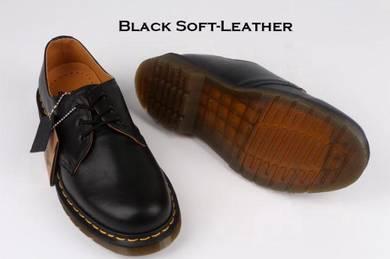 Dr Martens 1461 3 Eye Original Black Soft-Leather