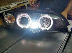 Bmw e39 head lamp ring new look