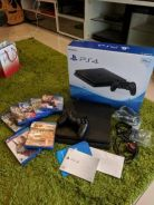 Playstation PS4 Slim 500gb 9 Games like new