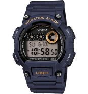 Casio Men's Core W735H-2AV Blue Resin Quartz Watch
