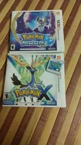 3 Pokemon Games Nintendo 3DS/2DS