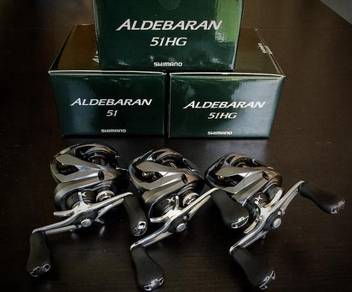 15' SHIMANO ALDEBARAN 50 ~ 51HG JAPAN Fishing Reel