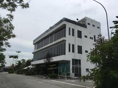 4-storey office building shah alam bukit kemuning selangor