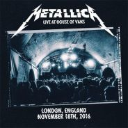 Metallica Live at House of Vans, November 18, 2016