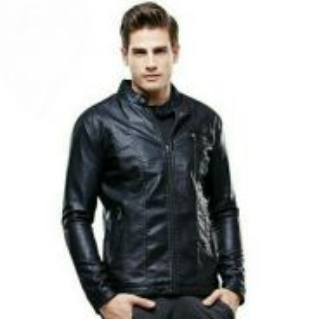 Men Top Quality Leather Jacket. MDK000001