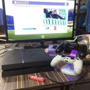 Ps4 fullset. with fifa 17 game