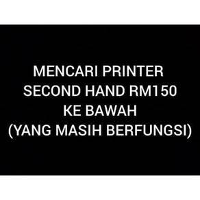 Mencari printer bawah rm150