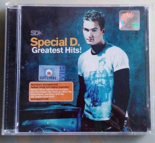 IMPORTED CD Special D. Greatest Hits CD