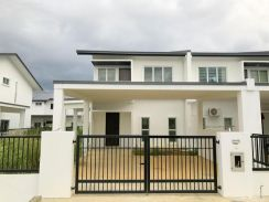 New Double Storey Corner near Kuching City Mall