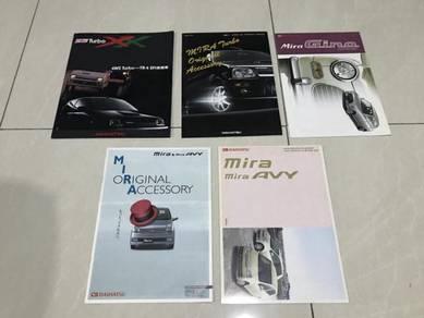 Daihatsu mira AVY GINO L500 L200 ori japan catalog