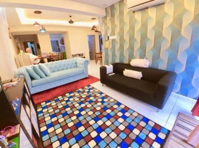 (Booking 1k) Villaria Kondominium , Petaling Jaya (Pool View)