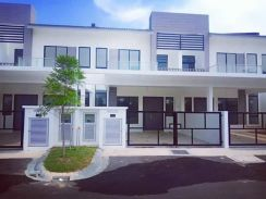 New Double Storey House for Rent at Serintin, Mantin [Fully Furnished]