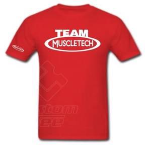 Tshirt Custom TEAM MUSCLETECH GYM NEW - B24S