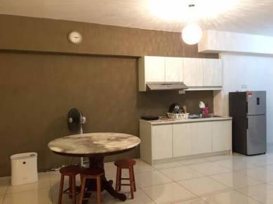 Fully furnished serviced apartment Paragon, Pan'gaea, Cyberjaya