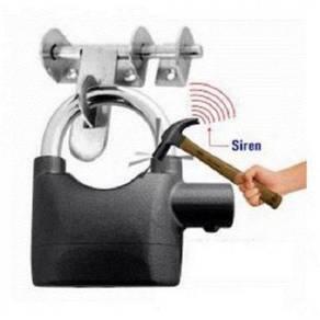 Kunci Mangga Dengan Alarm