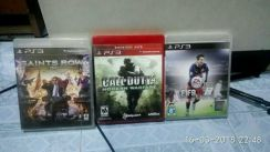PS3:Saints Row iv/Call Of Duty 4/Fifa 16