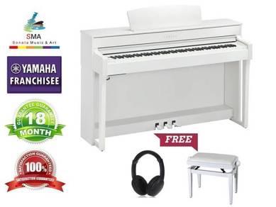 Yamaha Digital Piano Clavinova CLP635 CLP- 635 WH