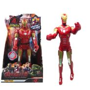 32CM Avengers Ironman Movable ABS PVC Painted
