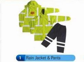 Personal Safety Rain Jacket & Pants