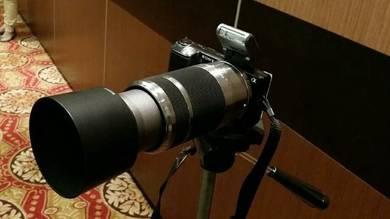Sony Nex-5 with zoom lens